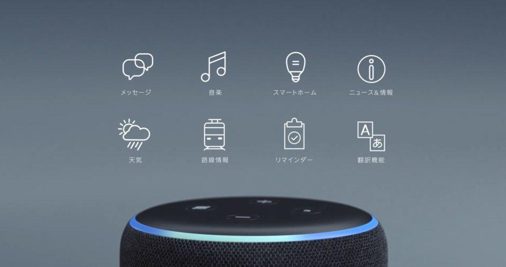 Echo Dotの特徴