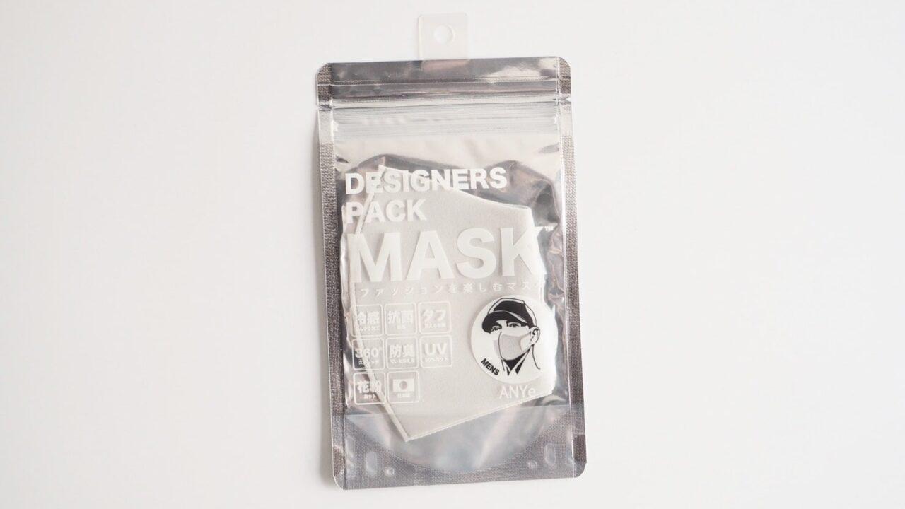 ANYeデザイナーズパックマスク