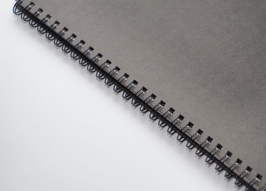 無印良品のダブルリングノート
