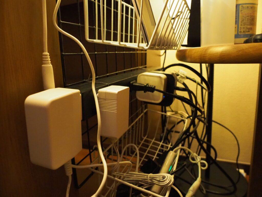 ELECOM『電源タップ10個口』